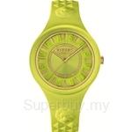 Versus Fire Island VESOQ060015 Yellow Dial Yellow Strap Ladies Watch