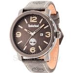 Timberland Pinkerton TBL.14399XSU/13 Grey Leather Strap Grey Dial Men Watch