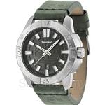 Timberland Litchfield TBL.14532JS/61 Green Leather Strap Black Dial Men Watch