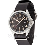 Timberland Raynham TBL.14829JS/02A-AS Black Leather Strap Black Dial Ladies Watch