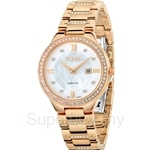 Bonia IP Rose Gold Ladies Watch - BNB962-2253S