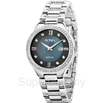 Bonia All Stainless Steel Blue Dial Ladies Watch - BNB962-2333S