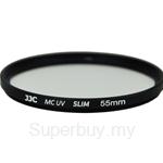 JJC Ultra-thin F-MCUV Filter (φ55mm) - F-MCUV55