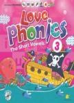 LOVE Phonics 3 The Short Vowels:認識母音(一書+2CD+1DVD+1海報+1手冊)