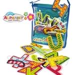 GeNz Kids Meadow Kids EVA Bath Stickers - Alphabets