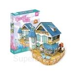 GeNz Kids 3D Puzzle Doll House Rural Villa