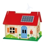 USL Eco Friendly Doll House with Accessories - VG50349