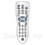 GE Universal Remote Control 3 Device Infrared Metallic Silver - 24912