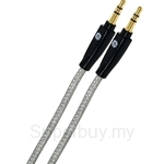 GE Auxillary Audio Cable 4 Feet 3.5mm to 3.5mm Clear - 13697