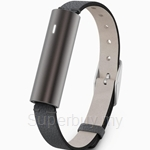 Misfit Ray Carbon Black Leather band - S517BM0BD
