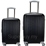 TravelTime T800 ABS 2-in-1 Expandable Hard Case Luggage Set (20 inch + 24 inch)