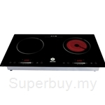 RHB Easy Hero Deals - Aeres EZCook Premium Double Cooker with Free Gift worth RM298 - AER01i