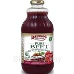 Lakewood Organic Pure Beet Juice 32oz (946ml) - 14044