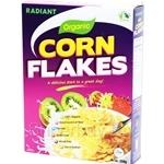 Radiant Organic Corn Flakes 250g - 15019