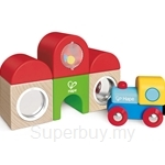 Hape Station Building Block Set - HP3802