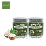 [Bundle Set] ItWorks Extra Virgin Coconut Oil Jar 232ml x 2 units
