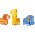 Wonderworld Toys Build & Play Safari Animal