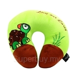 Happy Hoops Green Tortoise Love Our Earth Neck Cushion