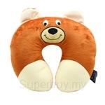 Happy Hoops Bear Neck Cushion
