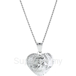 Lazo Diamond 9KW White Gold Pendant without Chain - 8P2114