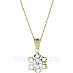 Lazo Diamond 9KM Gold Pendant without Chain - 8P2210