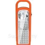HETCH Battery-operated LED Light 40 LED + 0.5 Torch LED Light (Orange+Black) - BOL-1120-HC