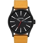 Nixon Sentry Leather 42mm Watch - A1052448