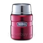 Thermos 0.47L Stainless King Food Jar with Spoon - SK3000RD