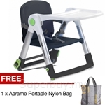Apramo Flippa Foldable Lightweight Portable Multifunctional Dining Booster