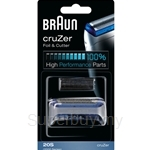 Braun Replacement Foil and Cutter Cassette Multi BLS Combi Pack Silver 20S