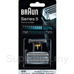 Braun Replacement Head Silver 51S