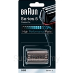 Braun Replacement Head Black 52B