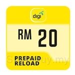 Digi Prepaid Reload RM20