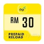 Digi Prepaid Reload RM30
