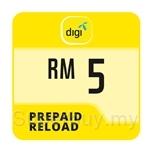 Digi Prepaid Reload RM5