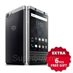 BlackBerry KEYone 4.5iNch [32GB] 3GB FREE 64GB Card + Powerbank + iRing + Cable + Car Charger + Car Holder