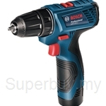 Bosch GSR 120-LI Professional Cordless Drill Driver (with 2 Batteries & Charger) - 06019F70L0