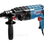 Bosch GBH 2-24 DRE Professional Rotary Hammer with SDS-plus (1 Set Drill Bits and 1 Pointed Chisel) - 06112721L4