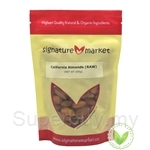 Signature Snack California Almond Natural (Raw - Not Roasted) (200g)