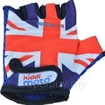 Kiddimoto Union Jack Cycling Gloves (Small) - GLV008S