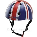 Kiddimoto Union Jack Bicycle Helmet (Small) - KMH013S