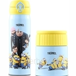 Thermos 0.50L Minion Ultra Light Flask + 0.4L Lifestyle Food Jar Set