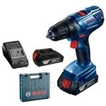 Bosch GSR 180-LI 18V Professional Cordless Drill (Come with 2 x 1.5Ah Battery + AL 1814 CV Chager) - 06019F81L0
