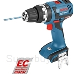 Bosch GSB 18 V-EC Professional SOLO Cordless Impact Drill Combi (Without Battery & Charger) - 06019E9100