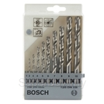 Bosch Metal Drill Bit Set HSS-G (ground) 10pcs set - 2607019115
