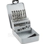 Bosch Metal Drill Bit Set HSS-G (ground) 19pcs set - 2607019116