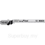 Bosch Jigsaw Blade T 101 AO for Wood (Fine curved cut 2-20mm) (5pcs card) - 2608630031