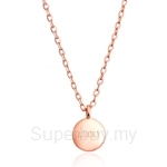 Celovis Attract Luck S925 Silver Dainty Adjustable Necklace
