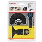 Bosch 3pcs Hardened Wood and Metal Set - 2608662223