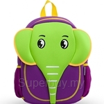 NOHOO Elephant Kids Backpacks (For Above 6 Years Old) - NH012